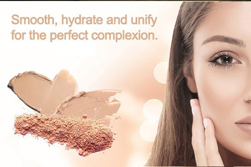 Summer-light and illuminating Complexion Perfector foundation from Eye Care Cosmetics
